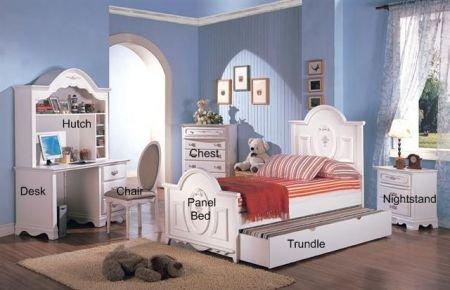 Image of Sariah 5-Piece Kids Panel Bedroom Set - Coaster 400101 (B005LWQM36)