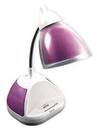 iHome Desk Lamp with iPod/MP3 Dock, Pink - Ipod Docs ...