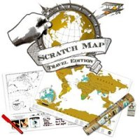 Scratch a Map - Show Where You Have Been