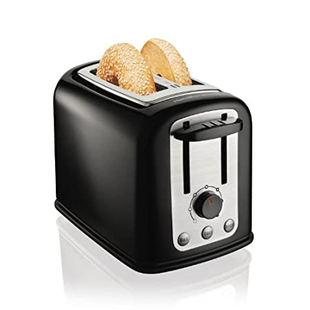 Hamilton Beach 2 Slice Toasters are popular not only for their expert toasting performance-they also look great in your kitchen. Wider slots and smart buttons allow you to uniformly toast and warm bagels, English muffins and other breads, and advance...