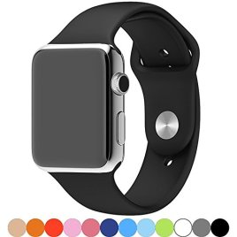 Apple-Watch-BandGoodidus-Soft-Silicone-Fitness-Replacement-Sport-Band-for-Apple-Watch-L-Size