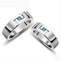 Amazon.com: Matching Engravable Promise Rings Set for Men ...