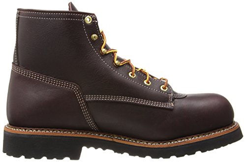 Thorogood American Heritage 6quot Safety Toe Boot Walnut 11