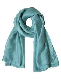 Solid Color Wool Silk Woven Scarf - Mint Green at Amazon ...