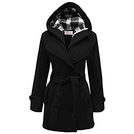MyMixTrendz- Womens Warm Fleece Hooded Jacket With Belt Coat Top Plus Sizes 8-20 50% Polyester & 50% Cotton Recommended to wash separately Made in UK COLOUR SHADES MAY VARY FROM THE PICTURE, MATERIALS MAY VARY DEPENDING ON SUPPLIERS ,SIZES ARE UK STA...