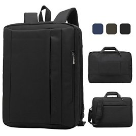 CoolbellTM156-inch-Multi-function-Convertible-Laptop-Messenger-Computer-Bag-Single-shoulder-Backpack-Briefcase-Oxford-Cloth-Waterproof-Multi-Compartment-For-iPad-Pro-Macbook-Man-And-WomenBlack