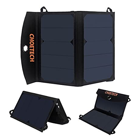 Portable solar phone charger lights up your green tour The folding solar charger utilizes high efficiency solar panel from SunPower and It transforms solar energy into electrical energy by assimilating sunlight. Satisfy your need of charging anywhe...