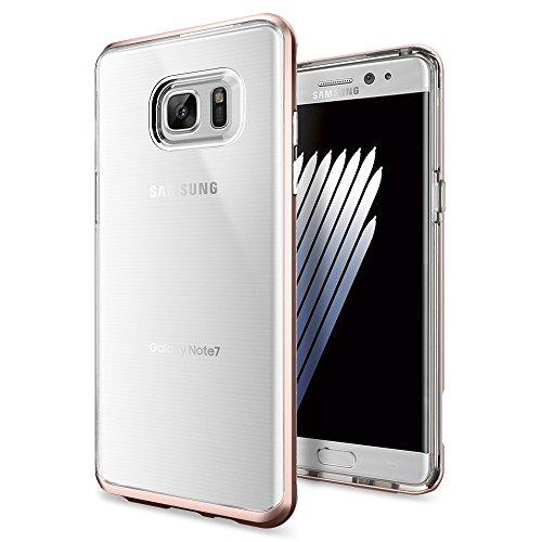 Galaxy-Note-7-Case-Spigen-Neo-Hybrid-Crystal-PREMIUM-BUMPER-Rose-Gold-Clear-TPU-PC-Frame-Slim-Dual-Layer-Premium-Case-for-Samsung-Galaxy-Note-7-2016-562CS20567