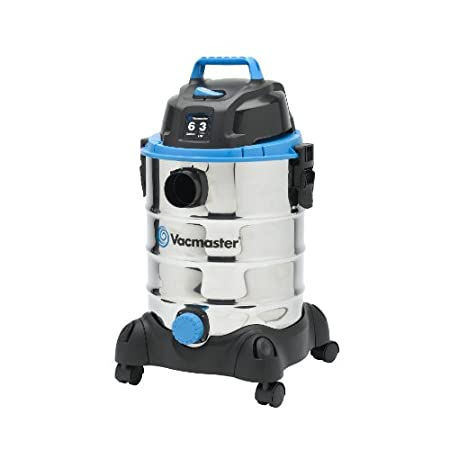 The Vacmaster Stainless Steel Wet/Dry Vacuum is powerful enough for commercial cleaning, yet light enough for personal home use. Enjoy a large selection of included accessories for a variety of scrubbing, dusting, shampooing and vacuuming jobs. Capac...
