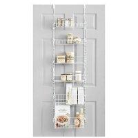 SALT Over-the-Door Deluxe Household Organizer Pantry Rack