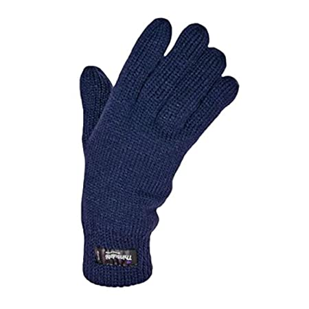 A pair of Warm Knitted Thermal Thinsulate lined ladies gloves. Excellent insulation properties for the cold winter months. Essentials for keeping your hands warm. Available in a range of fashionable shades to co-ordinate with your wardrobe.