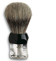 Brocha de afeitar 3 Claveles. Pelo de tejon en mango de metacrilato