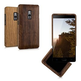 kwmobile-Natural-wood-case-for-the-OnePlus-Two-in-desired-colour