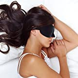 Restoration® Lightweight & Comfortable Contoured Sleep Mask Including Moldex® Ear Plugs - The Perfect Eye Mask for Bedtime, Meditation, Napping & Travel