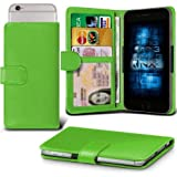 Lenovo S60 Adjustable Spring Wallet ID Card Holder Case Cover (Green) Plus a FREE Stylus Pen. Get Best Valued Case On Amazon Now - By FinestPhoneCases