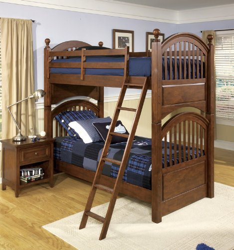 Image of 490 American Spirit Twin Bunk Bed Bedroom Set by Legacy Classic Kids (B0030NIJB6)