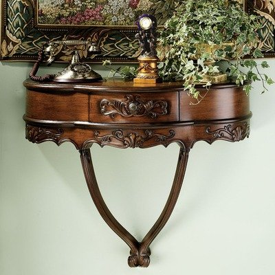 Image of Design Toscano Camellia Wall Console Table SK1345 (SK1345)