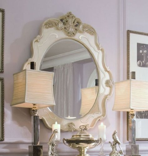 Image of Console Table Mirror by AICO - Blanc - 04 (54260N) (54260N)