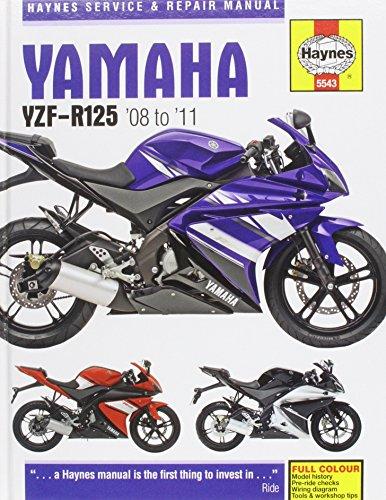 Yamaha Yzf-R125 (08-11). (Haynes Service and Repair Manuals)