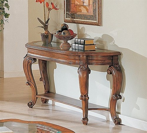 Image of French Provincial Occasional Console Sofa Table - Coaster Co. (B003XR6286)