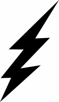 Free flash lightning bolt coloring pages