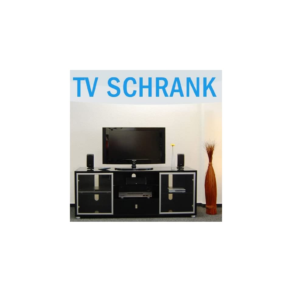 Glasregal Amazon Tv Regal Lowboard Schwarz Glas Garten On Popscreen