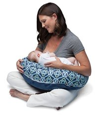 Boppy Two-Sided Breastfeeding Pillow, Royal Navy Baby ...