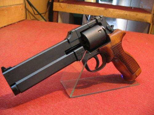 マルシン マテバ - 木製グリップ仕様 - ヘビーウェイトモデル ガスガン・ガスリボルバー(8mmBB弾専用)