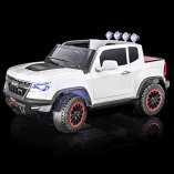 SPORTrax-Chevrolet-Colorado-Style-4WD-Kids-Ride-On-Car-Battery-Powered-Remote-Control-wFREE-MP3-Player-White