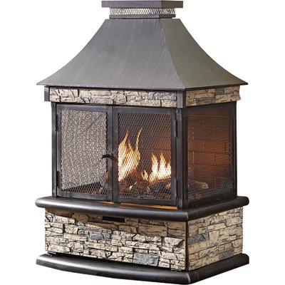 OUTDOOR PROPANE GAS FIREPLACE  Fireplaces