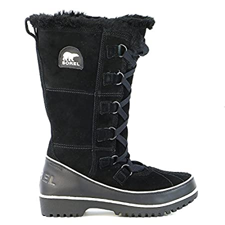 The Sorel Tivoli High II Ladies boot is a fun, eye-catching knee high silhouette thatâ€TMs designed for navigating in the snow or apres anything. All-over waterproof suede leather upper is breathable, insulated, and lined with soft microfleece. Faux ...
