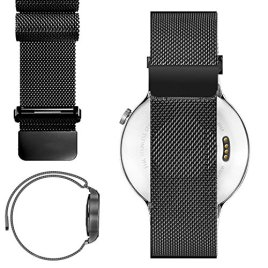 20mm-Magnetic-Milanese-Loop-Stainless-Steel-Magnet-Closure-Lock-Band-For-Pebble-Time-Round-20MM-2015-Not-14mm-Band-Samsung-Gear-S2-Classic-SM-R7320-Not-S2-Regular-or-S2-3G