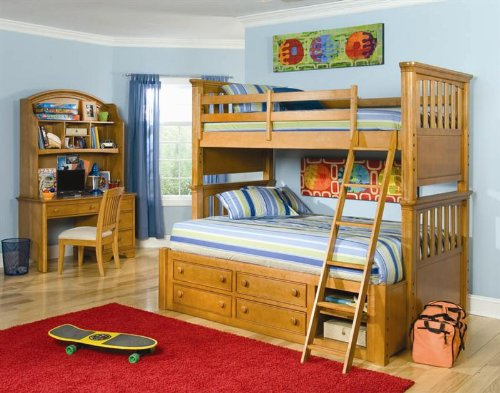 Image of 799 Sundance Twin Bunk Bed Bedroom Set by Legacy Classic Kids (B0030NGNVE)