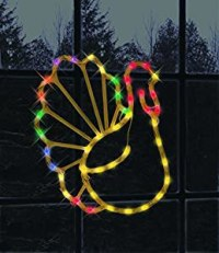 Amazon.com: Impact Innovations Thanksgiving Lighted Window ...