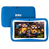 ProntoTec WiMo 7 Inch Android Kid Tablet, Android 4.4.4 KitKat OS, Cortex A9 Quad Core CPU, HD Display, 8GB, Dual Cameras, Wi-Fi, Zoodles Pre-Loaded - BLUE (2015 Latest Model)