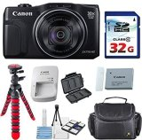 Canon-Powershot-SX710-HS-203MP-Camera-with-32GB-High-Speed-Memory-Card-Deluxe-Camera-Case-Flexible-Spider-Tripod-Starter-Kit-Deluxe-Accessory-Bundle