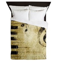 Funky Piano Bedding Sets - Falling Asleep in the Music ...