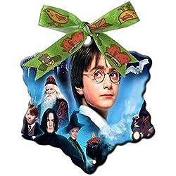 Harry Potter Custom Unique Fashion Snowflake Shape Ceramics Christmas Gifts Home Decoration