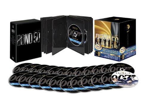 007 ジェームズ・ボンド ブルーレイ・コレクション<23枚組> (初回生産限定) [Blu-ray]