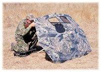 Amazon.com : San Angelo Camo Umbrella Blind & Carry Bag ...