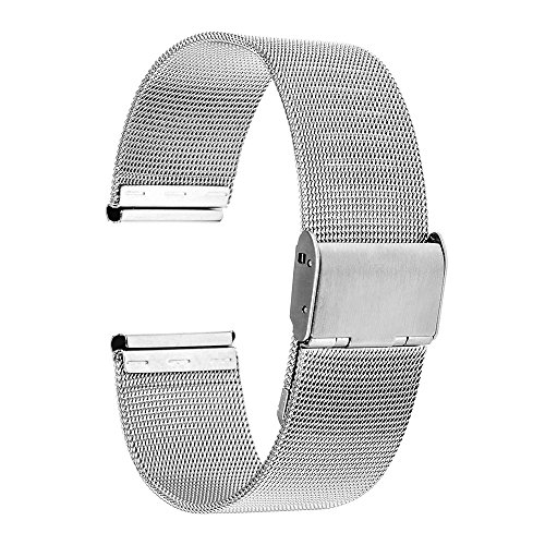 TRUMiRR-16mm-Watchband-Mesh-Stainless-Steel-Metal-Watch-Band-Strap-Bracelet-for-Motorola-Moto-360-2-2nd-Gen-42mm-Womens-2015-with-Tool-and-Spring-Bar-Silver