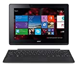 Acer Aspire Switch 10 E Pro7 2in1 Entertainment Edition (SW3-013) 25,6 cm (10,1 Zoll HD IPS) Convertible Notebook (Intel Atom Z3735F, 1,8GHz, 2GB RAM, 32GB eMMC, Intel HD Graphics, Win 8.1) grau