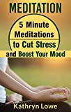 Meditation: 5 Minute Meditations to Cut Stress and Boost Your Mood
