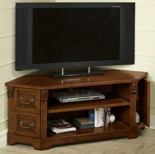 Buy low price dartmouth corner wd screen tv stand b003jbvnsk for Where to buy tv console
