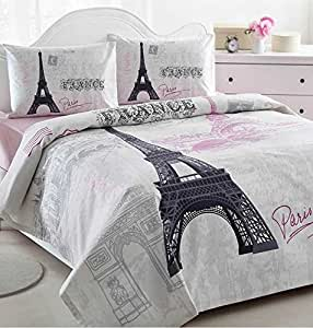 Amazoncom Ranforce 100 Turkish Cotton 4 Pcs Paris