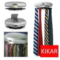 KIKAR Electric Motorised Tie Rack | Wall Mounted Tie/ Belt ...
