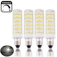 Bonlux 6W Dimmable E11 LED Light Bulb 45W Halogen Bulbs ...
