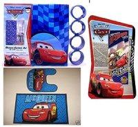 Amazon.com - 16pc Disney Cars Bathroom Set - Bathroom ...