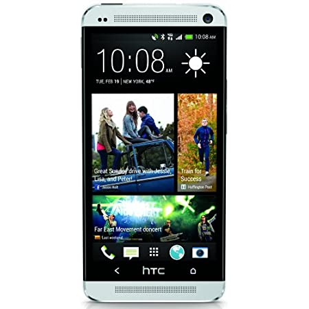 The HTC One Unlocked is the smartphone you've been waiting for. This sleek device has an all-aluminum body offering a slim and easy grip. HTC BlinkFeed on your home screen keeps you up to date with what's important to you. Everything becomes louder a...