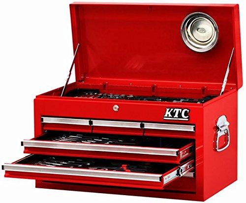 KTC 9.5sq.工具セット(チェストタイプ) 68点組 レッド SK36813X